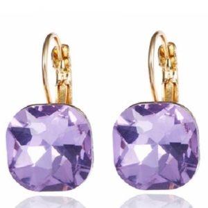 Kate Spade Gold & Crystal Earrings
